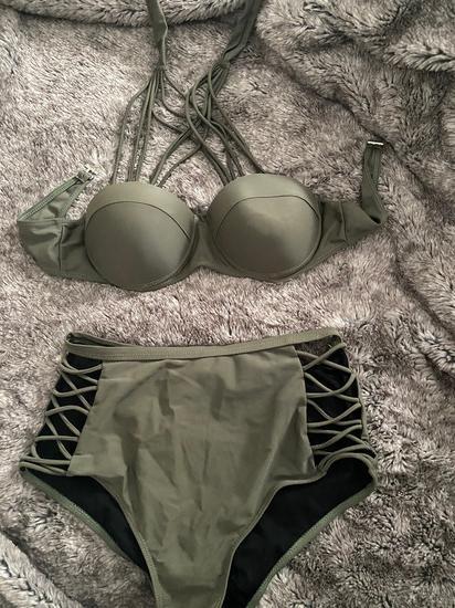Maslinasto zeleni bikini
