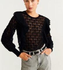 Rupičasti pleteni pulover NOVI