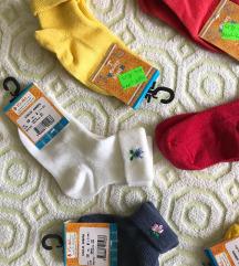 NOVE S ETIKETOM Dječije čarapice 💛🧡❤️