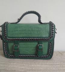 Zelena torbica.