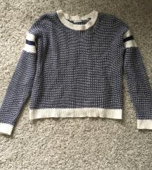 Predivan Plavi džemper vel XS-S