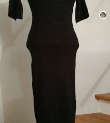 Rastezljiva pletena pencil haljina S