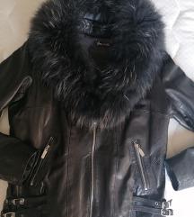 MasterPelle kožna jakna sa pravim krznom 850 kn% ✅