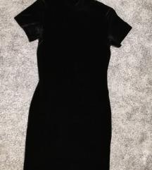 Crna MEXX haljina sa dolčevitom