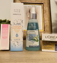 Set proizvoda za lice - Loreal, Afrodita, Avon