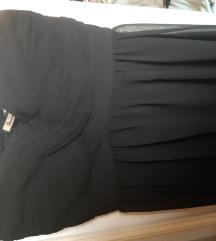 Crna duga svečana haljina, twister