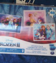 3D Frozen puzzle