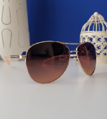 Smeđe ženske sunčane naočale