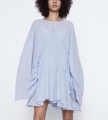 Zara plisirana haljina NOVO S ETIKETOM