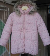 Zimska jakna (  roza) vel.122/128