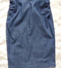 Max Mara  traper suknja jeans