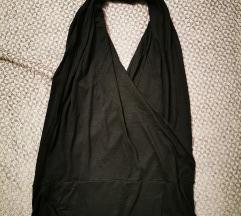 Crni top otvorena leđa