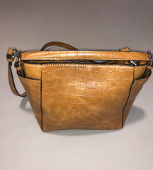ZARA smeđa torbica