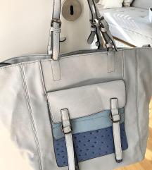 plava velika torba