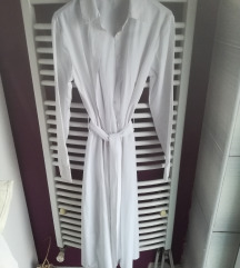 Bijela košulja haljina