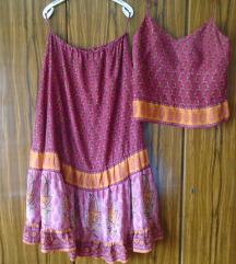 Top i suknja svila