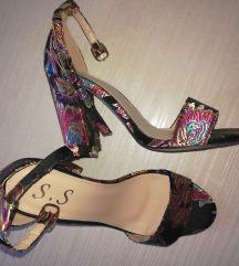 Cvjetaste sandale novo