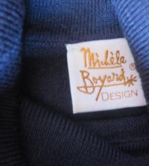 Michele Boyard design dolčevita, tamnoplava