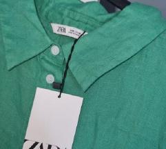 Zara lanena košulja haljina XXL