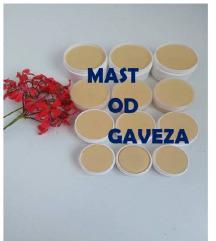 Mast od gaveza - prirodni lijek protiv bolova