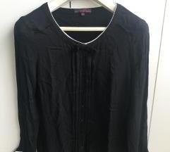 Crna bluza Tom Tailor od viskoze