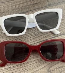 MANGO crvene sunčane naočale