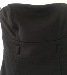 Zara uska crna haljina