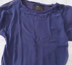 Zara tamnoplava bluzica
