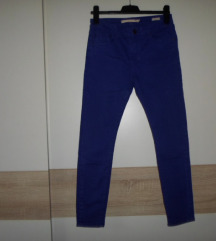 Zara Woman plave traperice...Slim fit vel.38