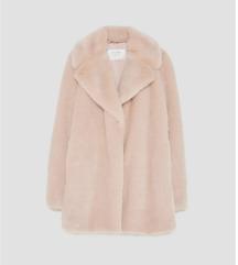 Zara Pink/bež bunda