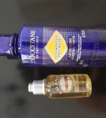 Novi L'occitane eterična voda+ulje za tuširanje