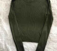 H&M zeleni top