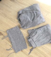 ZARA knit trenirka komplet u tri dijela