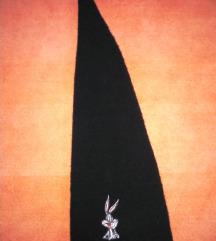 Bugs Bunny dugačka crna kapa