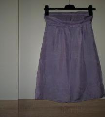 NAF - NAF ljubičasta haljinica od svile vel.38