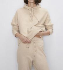 Pletena Zara  sweater majica i sportske hlače