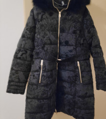 crna topla zimska jakna