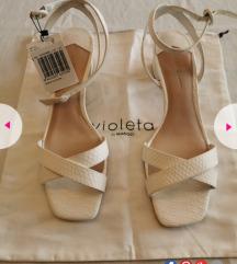 Mango sandale 41 bijele, novo