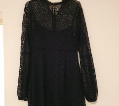 Zara svečana haljina tamno zelena