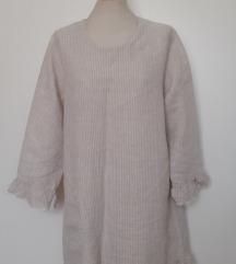 Schevia Form lanena tunika mini haljina