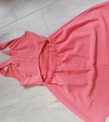 candy roza haljina otvorenih leda
