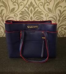 KRIZIA  plava torba