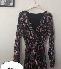 Ljepa proljetna cvijetna haljina