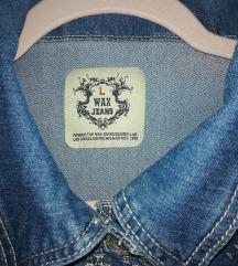 Wax jeans jakna, L