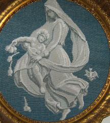 goblen original wiehler u baroknoj original rami