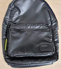 Novi Diesel crni veliki uniseks ruksak