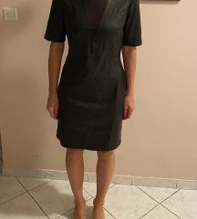 Sisley haljina od umjetne kože