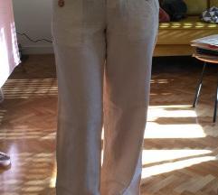 Bijele bež ljetne hlače