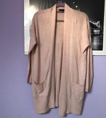Primark puder roza vesta kardigan jakna XS S