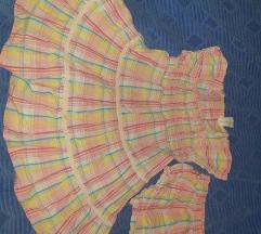 Haljina sa gačicama Baby club vel 92